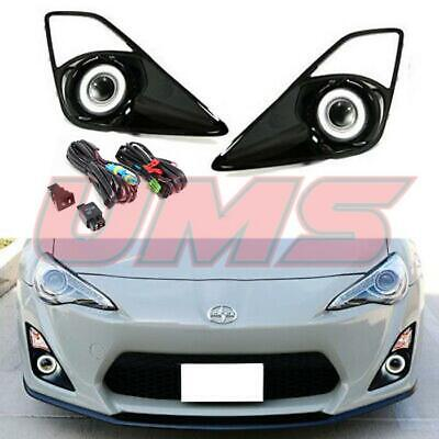 For 12-16 Scion FR-S Toyota GT86 Halo Projector Fog Lights Driving Lamps+Switch
