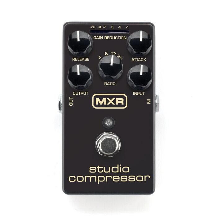 Used MXR M76 Studio Compressor Guitar Effects Pedal