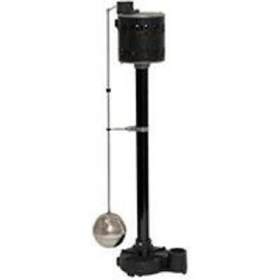 NEW SUPERIOR 92301 CAST IRON PEDESTAL 1/3 HP WATER SUMP PUMP & SWITCH 6990873
