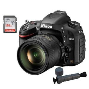 NIKON D610 W. 24-85mm LENS + BUNDLE SPECIAL