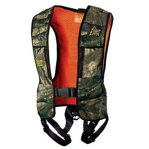 HSS-100-Hunter-Safety-Systems-Mossy-Oak-Treestand-Reversible-Camo-Size-S-M