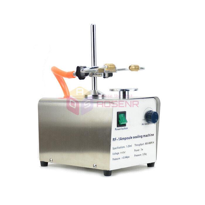 110V/220V RF Lab Ampoule Melting Laboratory Ampoule Sealing Sealer Machine