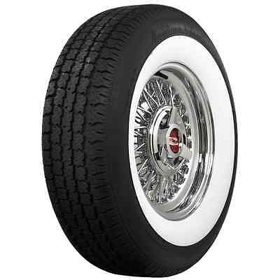 """American Classic 195/75R15 2-1/4"""" Wide White Radial Tire"""
