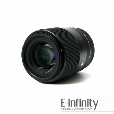 NEW Sigma 30mm f/1.4 DC DN Contemporary Lens for Canon EF-M