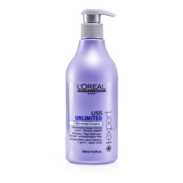 NEW L'Oreal Professionnel Expert Serie - Liss Unlimited Smoothing Shampoo (For