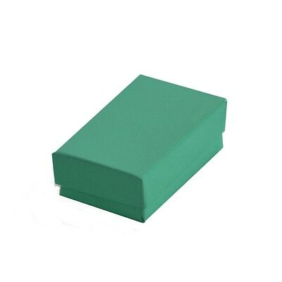 Wholesale 1000 Teal Cotton Filled Jewelry Packaging Gift Boxes 2 58 X 1 12 X 1
