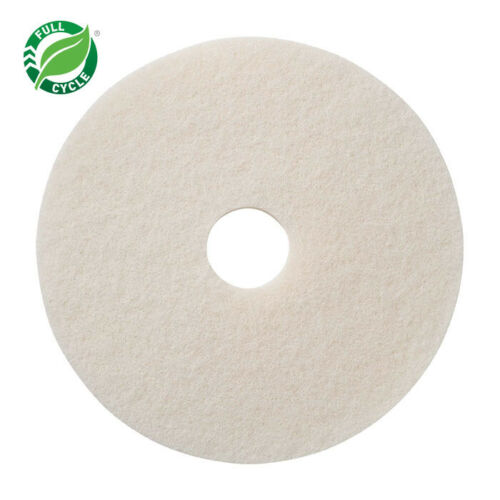 """12"""" White Polishing/Buffing Pad For Oreck/Bissell Orbital Machines"""