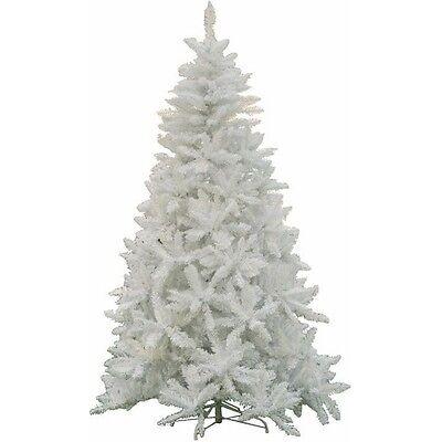 Albero di Natale mod. Sherwood Altezza 180 cm colore Bianco 720 Rami