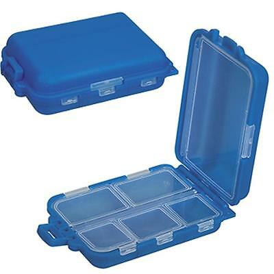 Kingsley M-94, MULTI-COMPARTMENT PILLBOX 6 Trays, New Pill B
