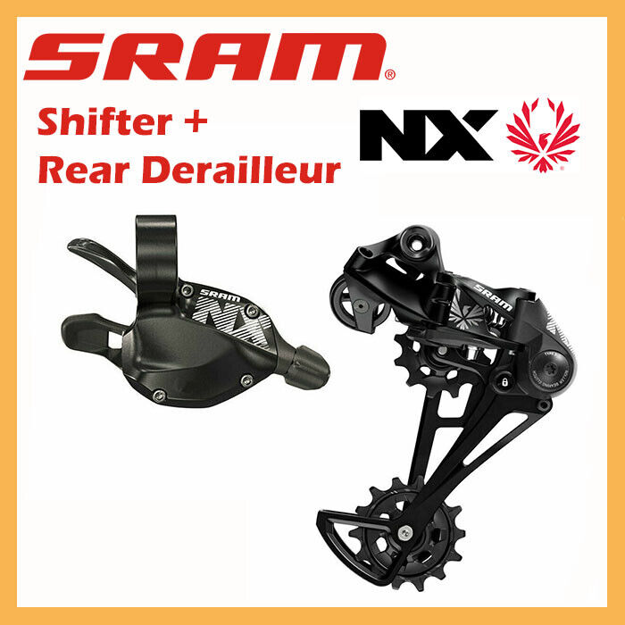 SRAM NX EAGLE 1x11 Speed Groupset Right Shifter Rear Derailleur MTB Bike Bicycle