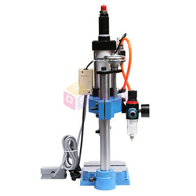 Single Column Pneumatic Press Punch Punching Machine Adjustable Force 200kg