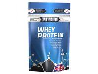 Titan Whey Protein 2.25kg | Protein Blend with Creatine & Glutamine