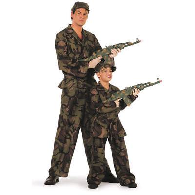 Armee Kinder Kostüme (Kinder-Kostüm Soldat, Soldenkostüm Armeekostüm Tarnanzug    )