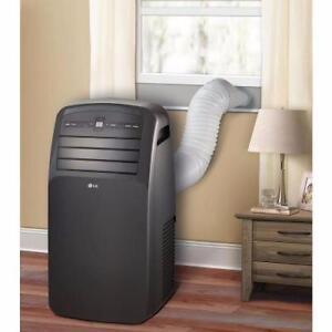Climatiseur Portatif 12000 BTU LP1215GXR LG - Noir - LG LP1215GXR 12 000 BTU Portable Air Conditioner - Black