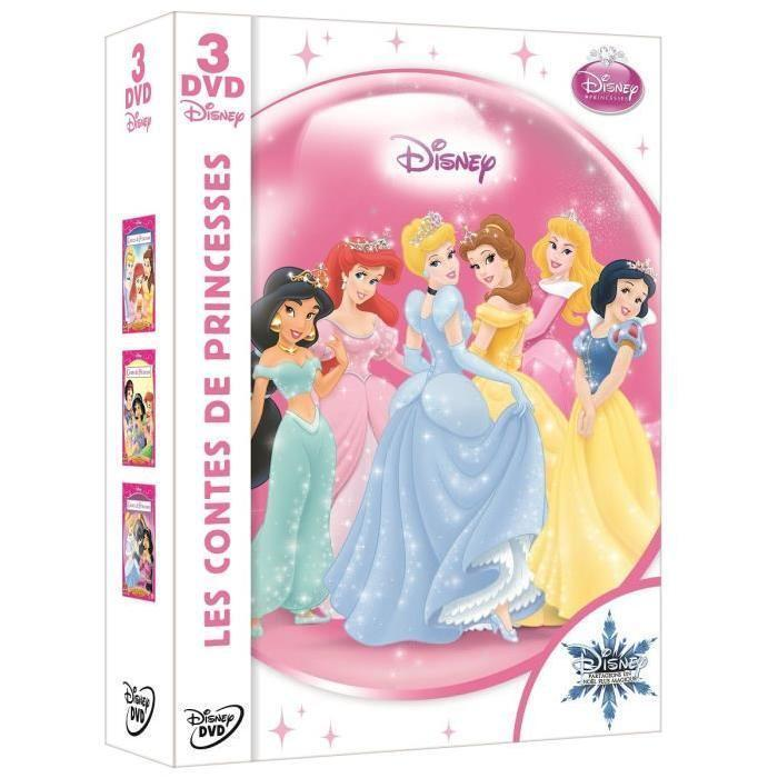 Coffret 3 DVD Contes de princesses