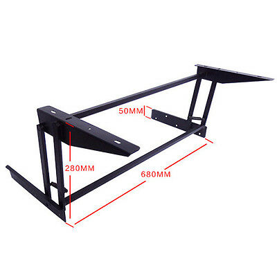 Lift Top Coffee Table DIY Mechanism Hardware Lift Up Furniture Hinge Spring B08