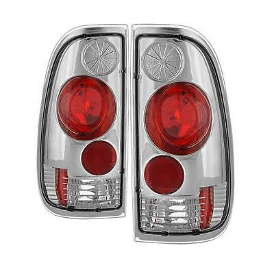 Spyder Auto 5003355 Euro Style Tail Lights-Chrome For Ford F150 Styleside 97-03