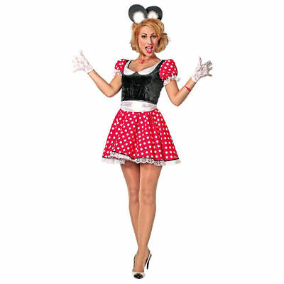 Damen-Kostüm Minnie Mickey Mouse     - Mickey Mouse Kostüme