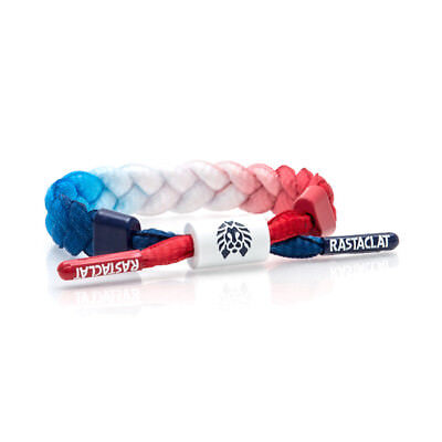 Brand New RASTACLAT Glory USA Mini Braided Shoelace Bracelet
