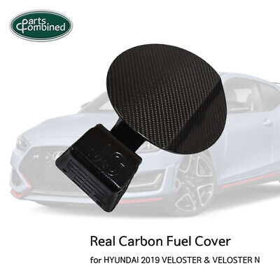 FUEL DOOR / REAL CARBON FUEL COVER for HYUNDAI 2019 2020 VELOSTER & VELOSTER N