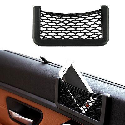 15X8cm Automotive Bag With Adhesive Visor Car Net Organizer Pockets Net HOTSALE