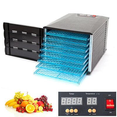 8 Tray Food Fruit Dehydrator With Door ...
