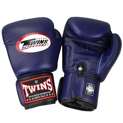 Twins Boxhandschuhe BGVL 3 Blue, Boxen, Muay Thai, Kickboxen, MMA , Gloves