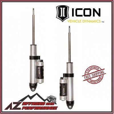 """ICON 14-18 Ram 2500 Rear Piggyback Reservoir CDCV Shocks 0"""" Lift Coil Spring"""