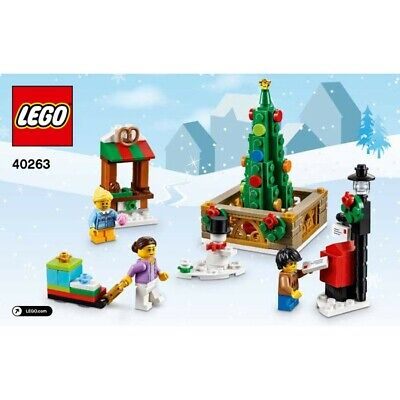 LEGO Christmas Town Square (40263) New & Factory Sealed