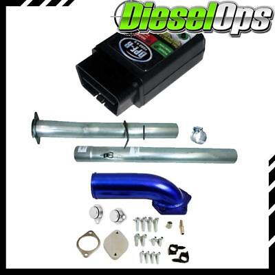 DPF-R 4.0 Tuner Flo-Pro DO EGR/CAT/DPF Del Pipe Kit for Powerstroke 6.4L 08-10