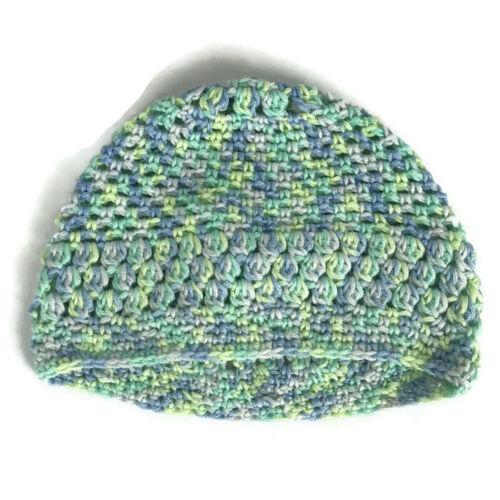 Crochet Kids Hat Betty Beanie Multi Colored Ski Winter Fall Hat Cap Hand Made