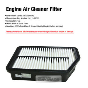 NEW Air filter for 2017-2018 Hyundai Elantra 1.4L, 1.6L, 2.0L