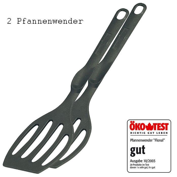 """2 x Westmark """"Flonal"""" Pfannenwender, hitzebeständig bis 210°C - Made in Germany"""