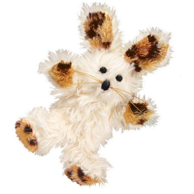 Kong Cat Softies Fuzzy Bunny Cat Toy