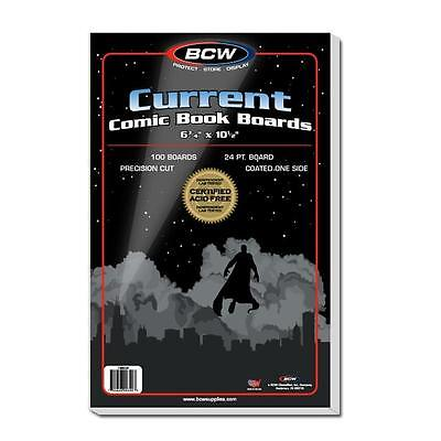 NEW 6-578 x 10-1//2 500 Ct Max Pro Current Comic Bags /& Backing Boards