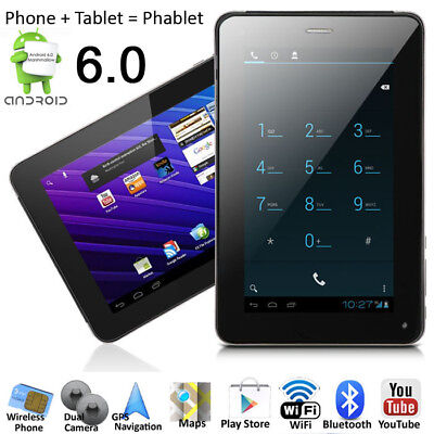 A23 GSM 7.0in Unlocked Smart Cell Phone Android 6.0 MM Tablet PC AT&T / T-Mobile