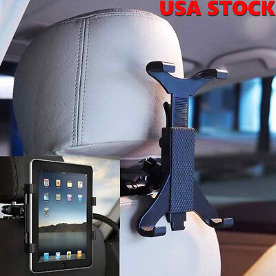 Universal Car Headrest Back Seat Stand Holder Mount for iPad 2 3 4 Mini Table US