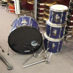 Tama Rockstar Bleu Shell Kit Drum 10-12-14-22 - usagé-used