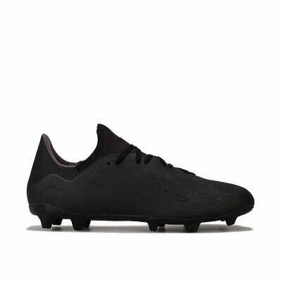 Men's adidas X 18.3 FG Football Boots in Black