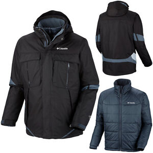New COLUMBIA mens 3in1