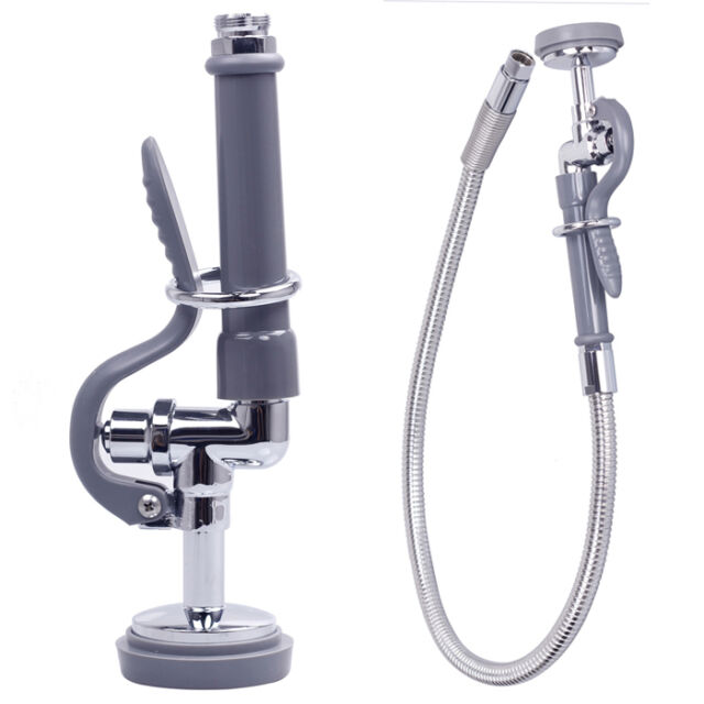 Commercial Kitchen Sink Spray With 3-Foot Flexible stainless steel hose