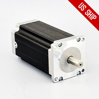 Nema 23 Stepper Motor High Torque 3nm425oz.in 4.2a Cnc Mill Lathe Router