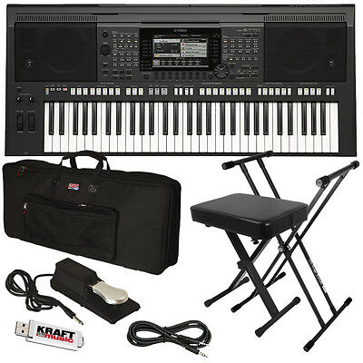 yamaha psr s770 arranger workstation keyboard stage. Black Bedroom Furniture Sets. Home Design Ideas