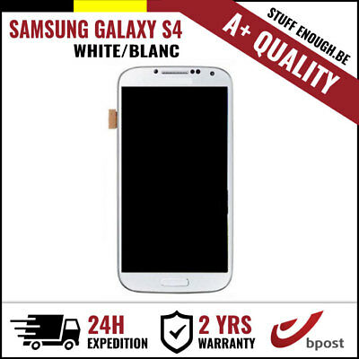 A+ LCD TOUCH SCREEN DISPLAY/SCHERM/ÉCRAN WHITE FOR SAMSUNG GALAXY S4 I9500