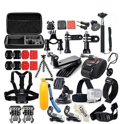 Kit Set 53EN1 Accesorios Cámara DV Deportiva GoPro hero 4/3 SJ5000X SJ4000 SJcam
