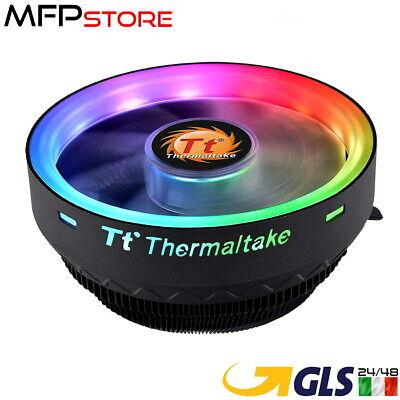 DISSIPATORE PROCESSORE RGB THERMALTAKE UX 100 PER CPU AMD E INTEL LGA 1200 AM4