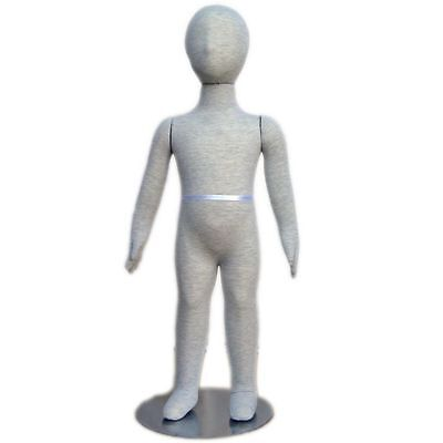 Mn-339 Pinnable Flexible Child Kid Mannequin With Head 2 10 18m-24m