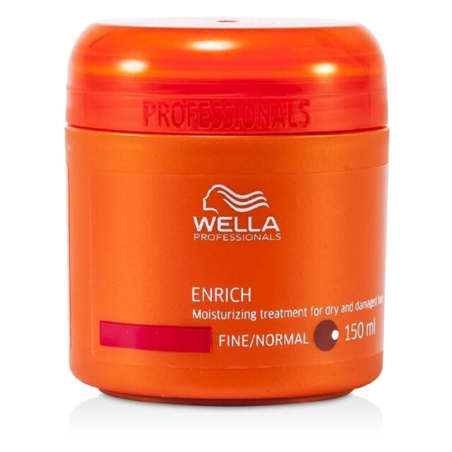 NEW Wella Enrich Moisturizing Treatment for Dry & Damaged Hair (Fine/Normal)