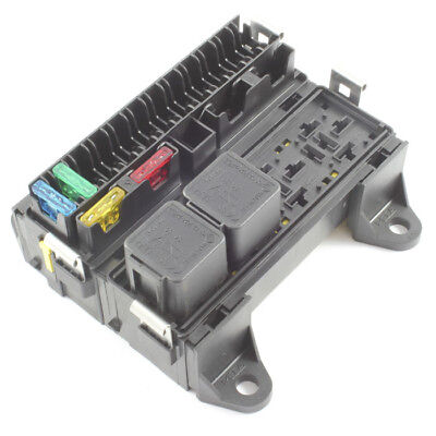 16 Way Blade Fuse Box & 4 Way Relay Box Combo Holder / Block 12v / 24v Car HGV