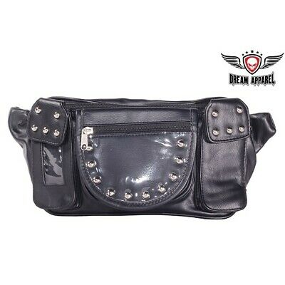 Magnetic Motorcycle Tank Bag / Tool Bag, Universal Fit, with Studs